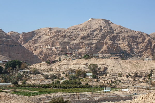 The Mount of Temptation above Jericho is said to be the hill in the Judean Desert where Jesus was tempted by the devil. The devil, who had been banished to earth, like Napoleon was banished to St. Helena years ago by the European powers, had direct access to Jesus to tempt Him to act contrary to His Father's will. How much more would the enemy of all that is good, kind, loving, and true, tempt and attack the people described in the book of Judges.
